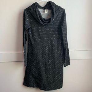 Aventura Long Sleeve Cowl Neck Dress